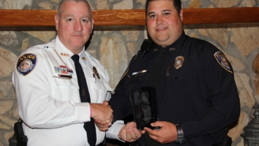 Officer Josh Bedgood Receives Officer of the Year Award